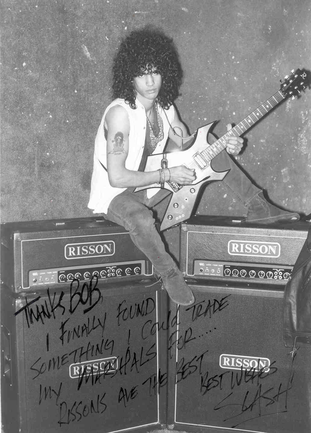 Slash with Risson Amplifiers